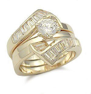 Volume Discount Low Price Affordable Wedding Ring Sets Pi