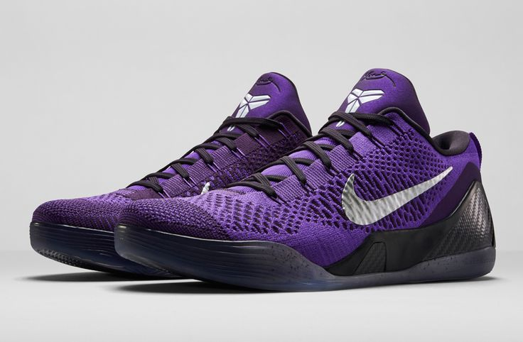 "Nike Kobe 9 Elite Low ""Hyper Grape"" (Release Date and Detailed Pics) - EU Kicks: Sneaker Magazine"