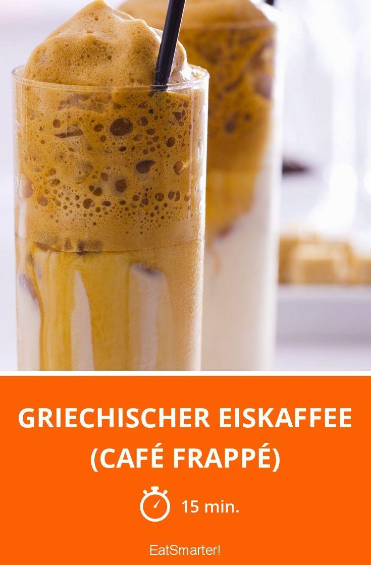 Griechischer Eiskaffee (Café frappé) - smarter - Zeit: 15 Min. | eatsmarter.de