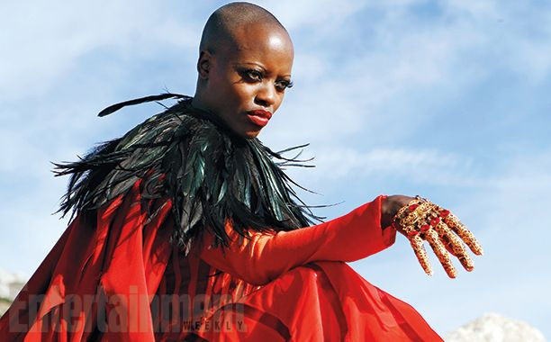"""The Look: Oz - Florence Ksumba as """"East,"""" aka the Wicked Witch of the Eaat, for NBC's """"Emerald City"""""""