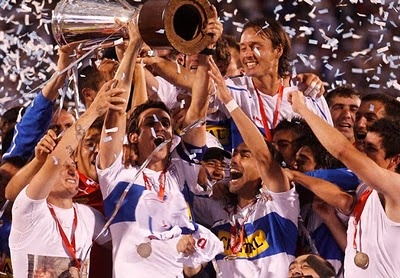 Universidad Catolica, 2010 Chilean soccer champion