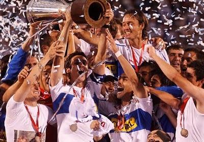 Universidad Catolica, 2010 Chilean soccer champion