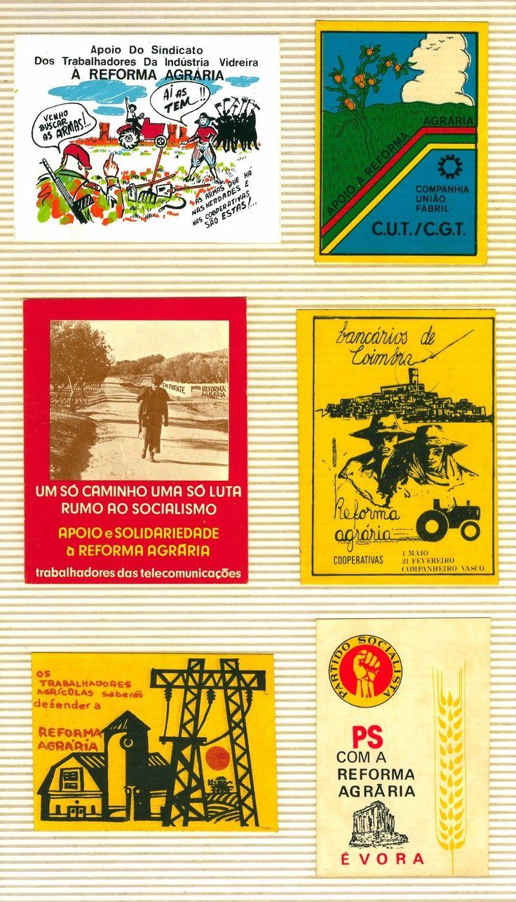 """1604 - diversos, sobre a """"Reforma Agrária"""" (1974-1985)"""