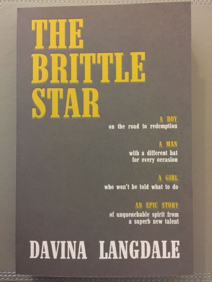 The Brittle Star by Davina Langdale PB Uncorrected Proof Copy