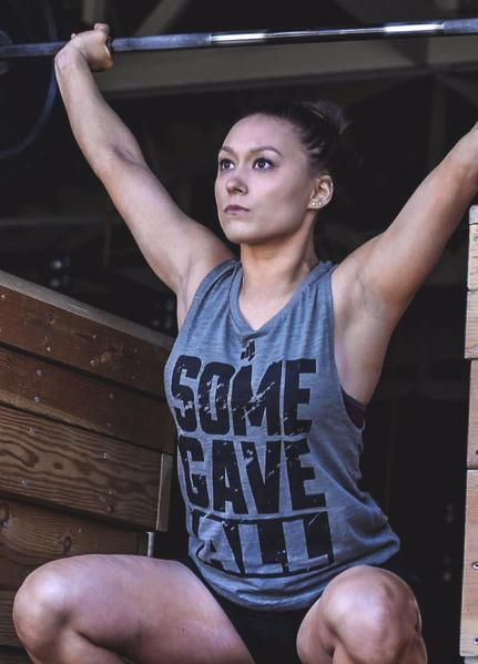 Women's Some Gave All Muscle Tank