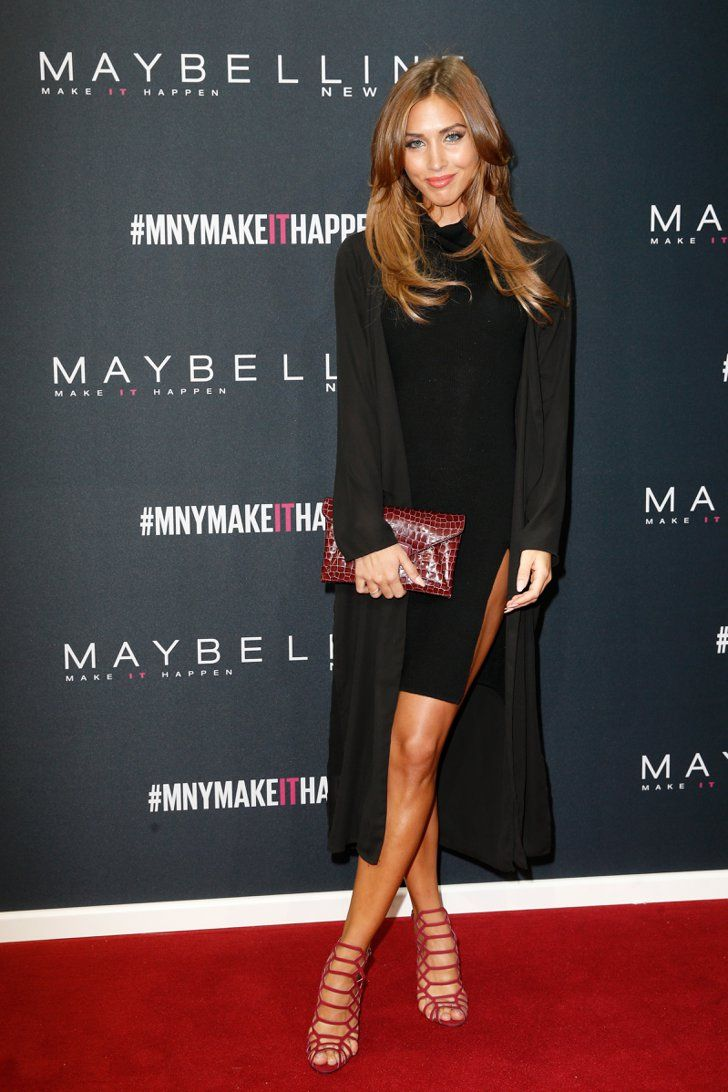 Pin for Later: Die Stars besiedeln Berlin bei der Fashion Week Ann Kathrin Brömmel bei der Maybelline New York Make-Up Runway Show