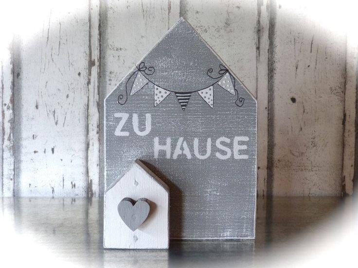 Deko-Objekte - XL-Holzhaus*** - ein Designerstück von pabst96 bei DaWanda