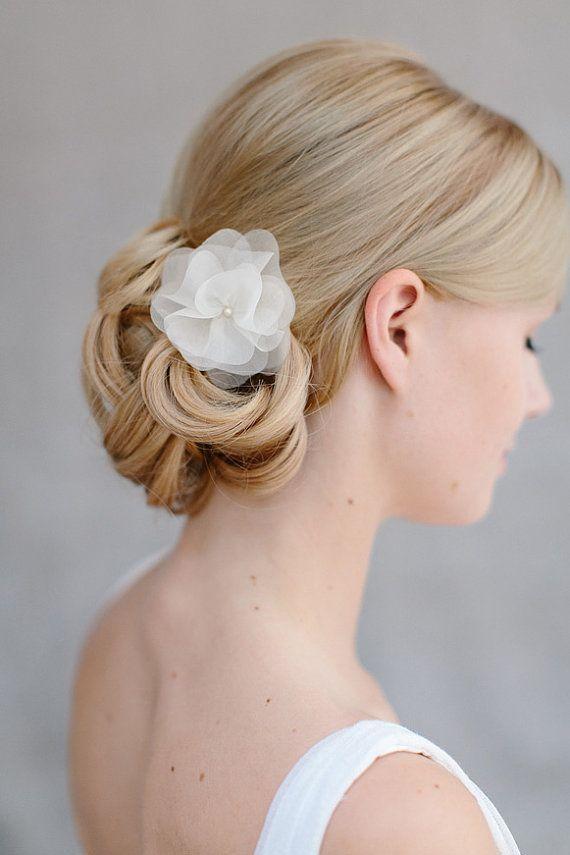 Bijoux de cheveux mariée mariage cheveux fleur par BelleJulieShop, €54.00