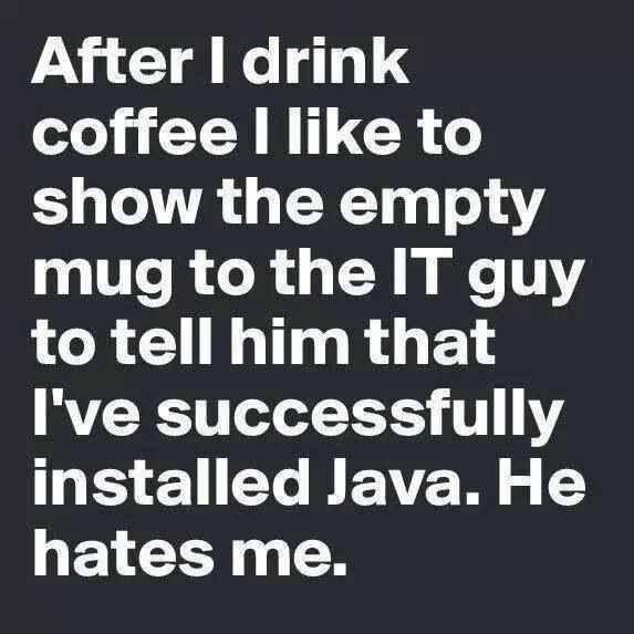 Successful Java Instalation