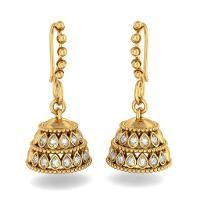 design of gold earrings with latest design - Google Search