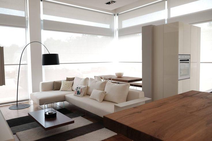View on a LAGO LIVING - Lago Point Moro Arredamenti - Air Sofa + Air Table #livingroom #living #soggiorno #homedecor #design #sofa