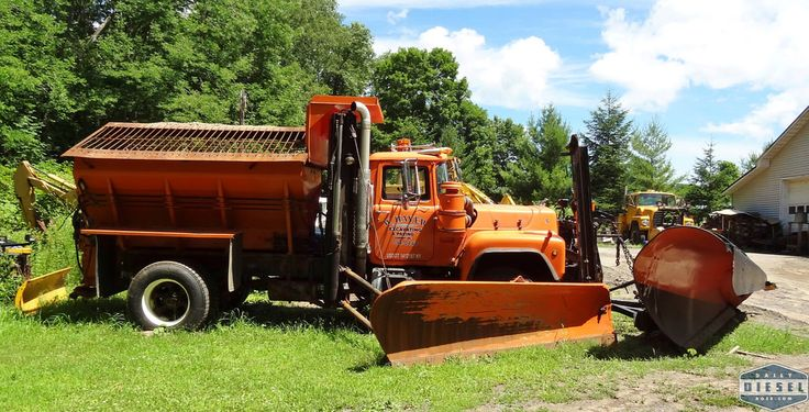 Mack Snow Plow