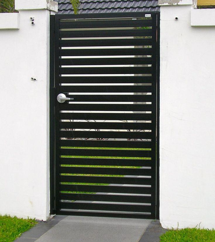 Gate and Fence:Electronic Gate Lock Custom Gates Wrought Iron Gates Driveway Gates Wooden Driveway Gates  pedestrian gate