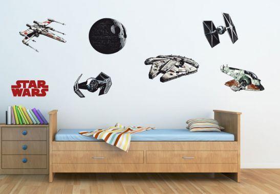 Star Wars Space Craft Set Wall sticker