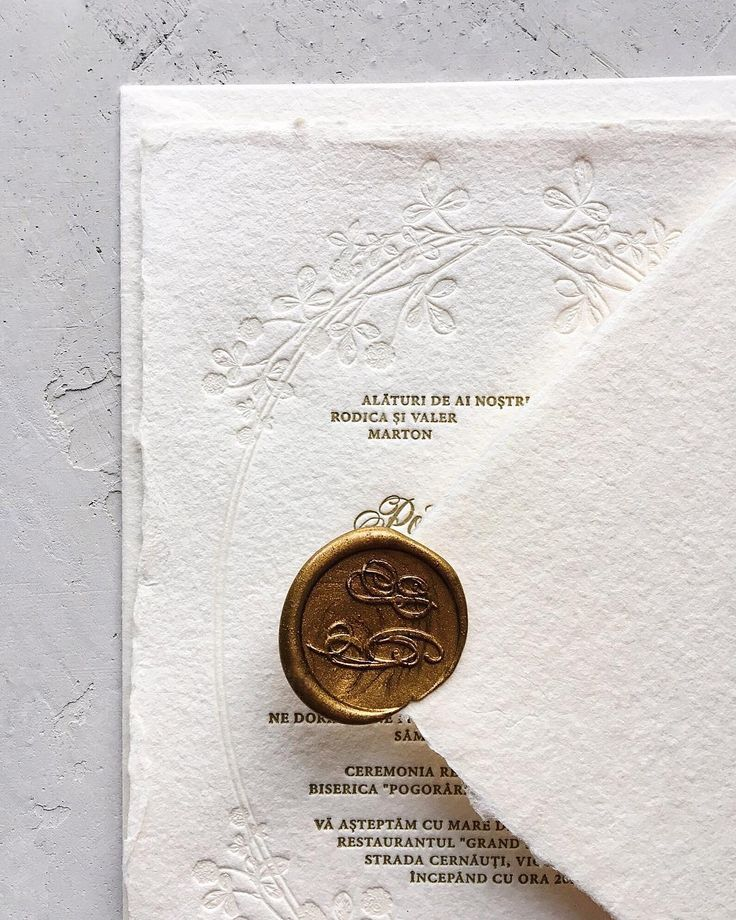 Matchy Matchy Letterpress Invite And Handmade Envelope: Handmade Paper And Letterpress With Matching Envelope And