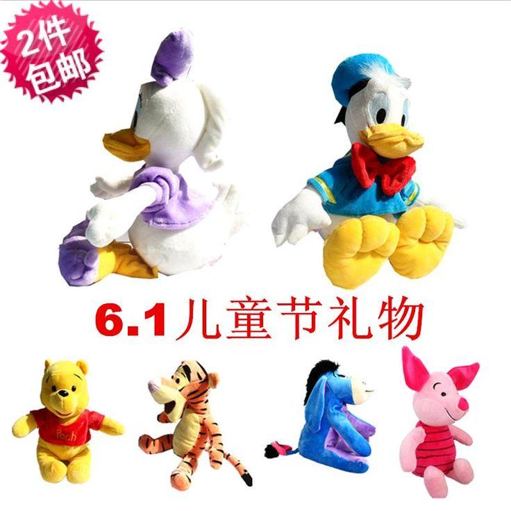 Клуб микки Мауса Микки и Минни плюшевые игрушки любителей куклы, свиней, ослов, медведи, кошки