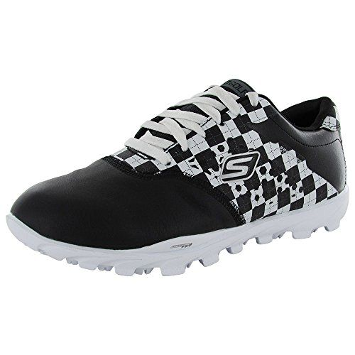 Womens Golf Shoes Fashion | Skechers Performance Womens Go Golf ShoeBlackWhite55 M US >>> Details can be found by clicking on the image. Note:It is Affiliate Link to Amazon.