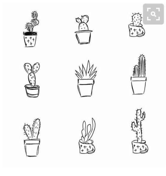 Simple Cactus Tattoo Ideas