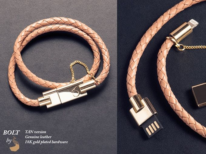 BOLT - Stylish iPhone bracelet charger by CHARLES DARIUS™ by Charles Darius — Kickstarter