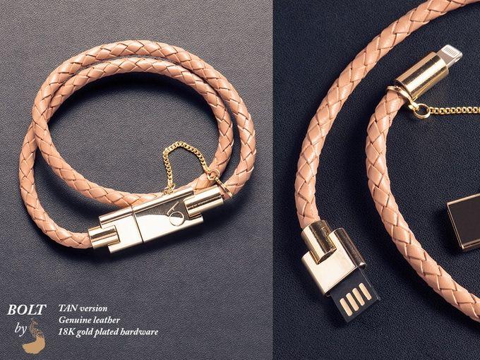 BOLT - Stylish iPhone bracelet charger by CHARLES DARIUS™ by Charles Darius — Kickstarter