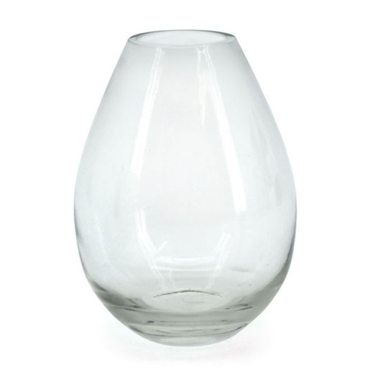 Glass Teardrop Vase 24.5H x 9BD x 7.8TD (02-TEARDROP-18) | Oceans Floral-We stock competitively priced quality glassware in a large range of styles. Whether you need glass vases, fish bowls, bottles and jars, hanging vases or an elegant showcase piece, we have the latest styles and a fantastic variety of glass vessels to cover all occasions. Weddings, DIYwedding, Centrepiece, Event planning.