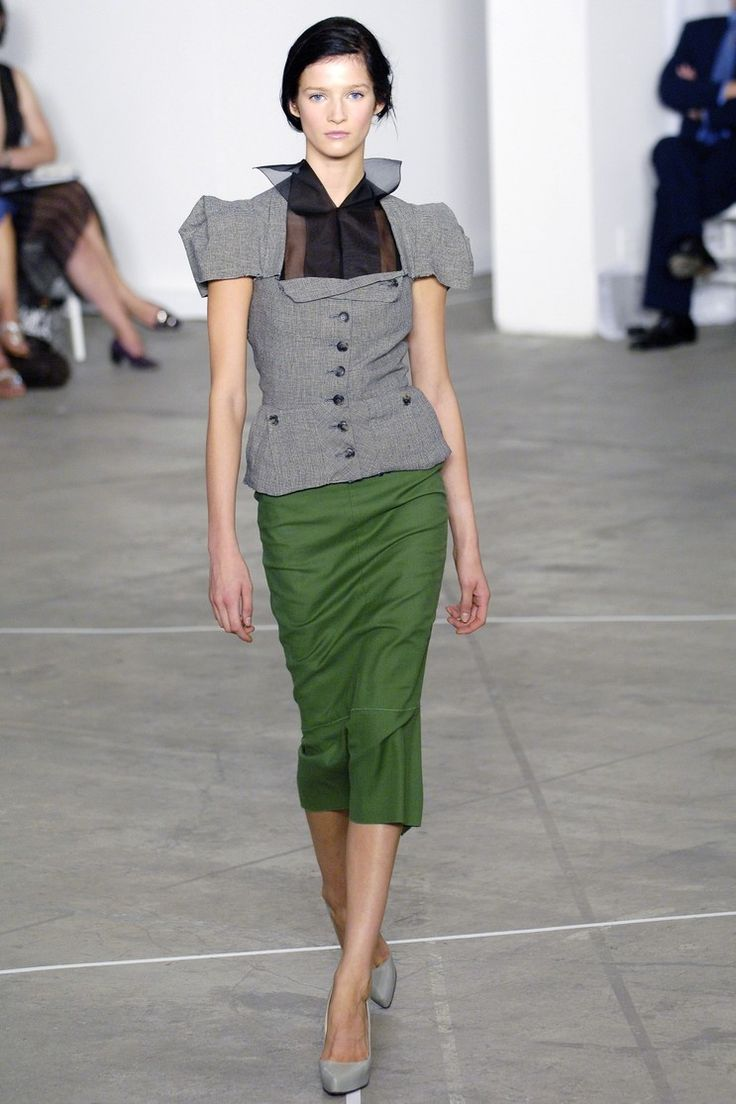 Roland Mouret 롤랑 뮤레 : Spring/Summer 2006 Ready-to-Wear New York : 네이버 블로그