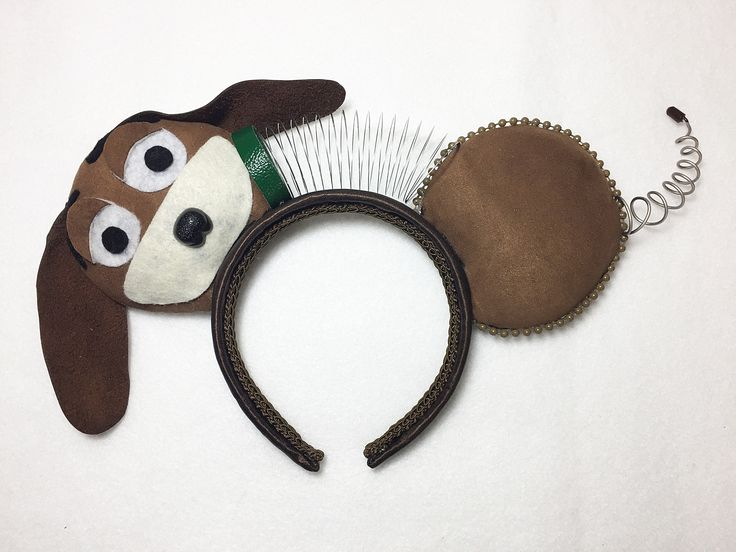 Toy Story Slinky Dog Inspired Mickey Ears. Made in preparation for the opening of Toy Story Land at Disney's Hollywood Studios! My DIY Mickey Ears by NMazzie