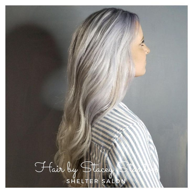 Silver cut & color by Stacey Stanton | Shelter Salon | Wichita, KS