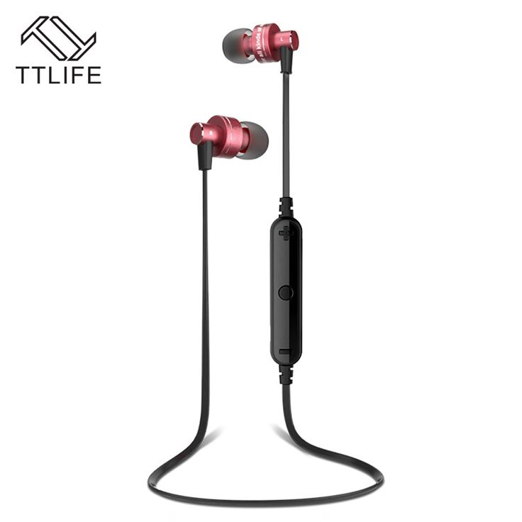 17.57$  Buy here - http://ali03p.shopchina.info/go.php?t=32793655984 - TTLIFE Bluetooth Stereo Earphone High Quality Wireless Headphones Audifonos Neckband Running Sport Auriculares With Mic Ear Hook  #buyonlinewebsite