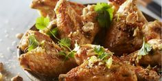 Boodschappen - In kokosmelk en limoen gemarineerde kippenvleugels