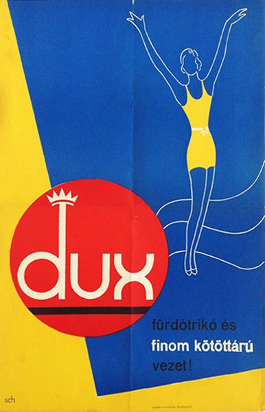 Dux, the leading brand in Bath Jersey and Knitwear! (1935)