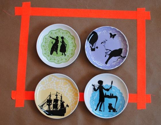 dessert plates: Paper Tablecloths, Colour, Lacey Silhouette, Desserts Plates Would, Doilies Treatments, Andersen Artworks, Minis Desserts, Plates Sets, Dessert Plates