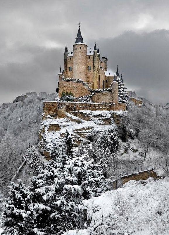 Alcázar of Segovia (literally, Segovia Castle), Spain