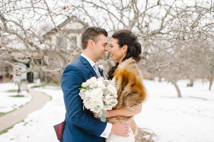 Andrea and Laird's Lovely Winter Wedding at Storys Building