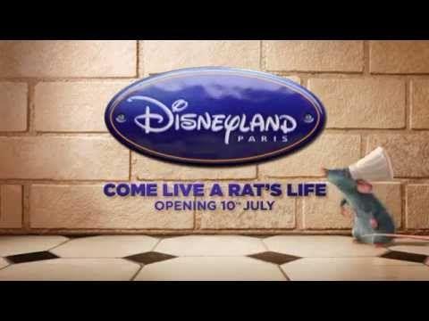 Ratatouille- noua atractie Disneyland Paris