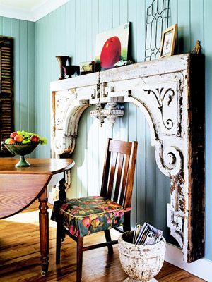 Salvaged inspiration- I've never thought of this!! It's such an awesome idea!!