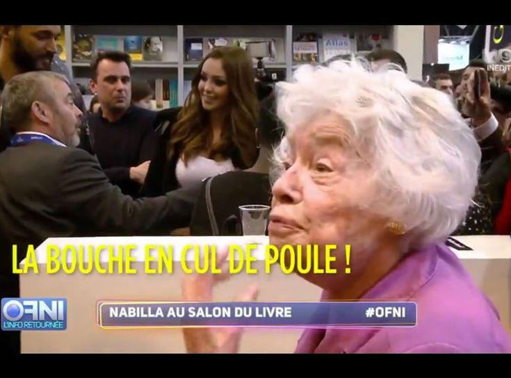 Vidéo Quand Claude Sarraute croise Nabilla au Salon du livre, c'est… épique !