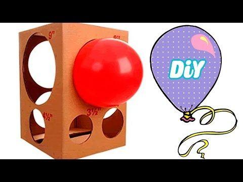 Como fazer medidor de Balão (bexigas) - How to Make Balloon meter - YouTube