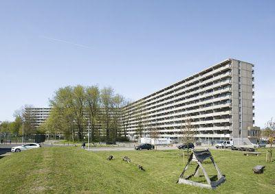 Portal de Diseño y Decoración: Un gigantesco edificio de viviendas de Ámsterdam, ...