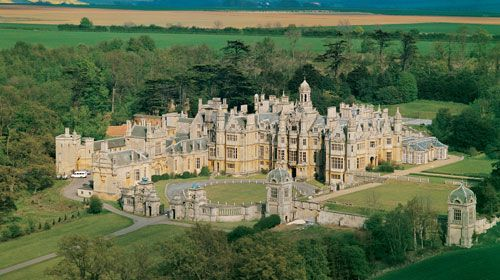 Harlaxton College in England...Sister University to University of Evansville - Evansville, Indiana