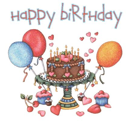 The 25 best Happy birthday gif images ideas – Birthday Greetings Clip Art