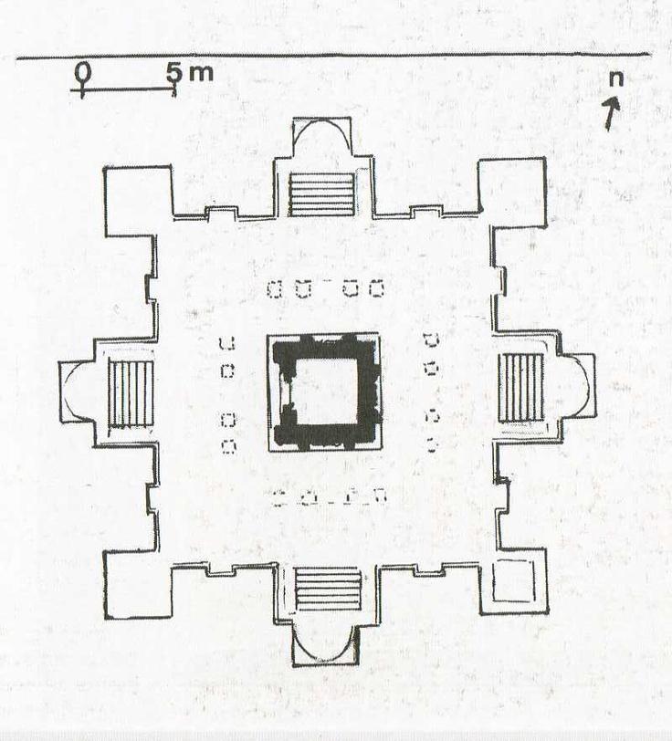 Temple De Vishnou Deogarh Uttar Pradesh D 233 But Du Vie