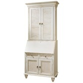 Found it at Wayfair - Bahama Breeze Computer Secretary Desk with Hutch