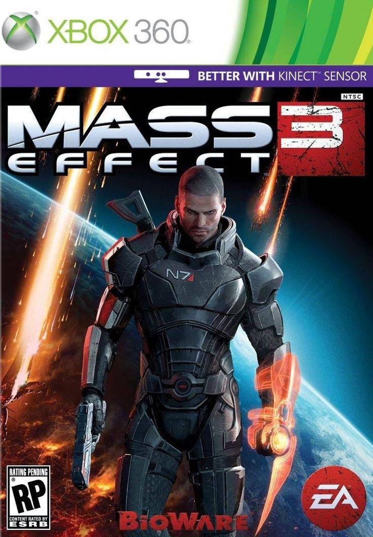 Mass Effect 3 (2012) en 2020 Xbox 360, Xbox, Joueur de