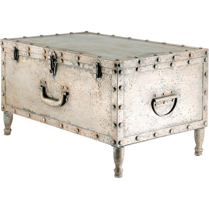 25 best ideas about trunks painted on pinterest trunks steamer trunk and decorative trunks Metal chest coffee table