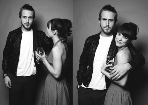 rachel mcadams & ryan gosling...cute couple