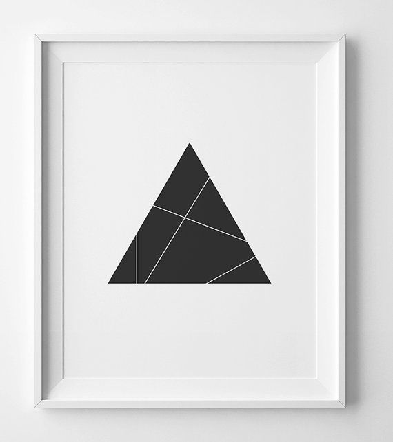 Geometric print top selling items black and white print danish modern print geometric wall art print affiche noir et blanc best seller