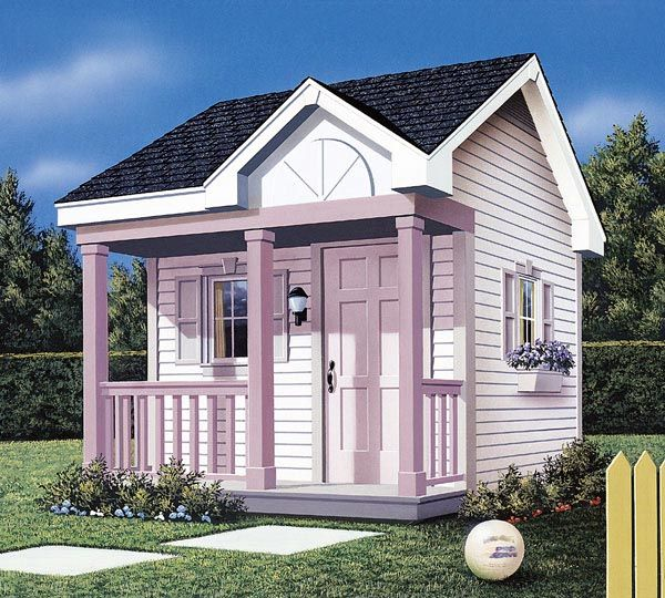 The 19 Best Images About Playhouse Plans On Pinterest