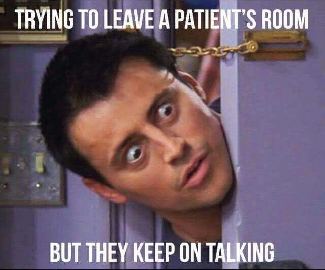 Talkative patients