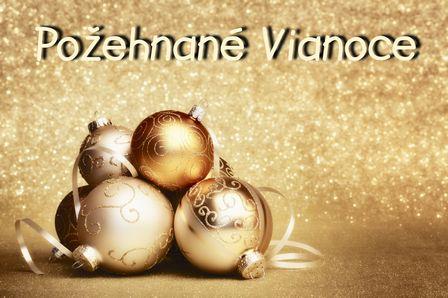 Požehnané Vianoce
